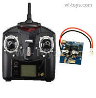 Wltoys F959 Parts Transmitter and Receiver board together.