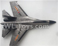 XK A100 J11 Parts-Fuselage Body Parts-Gray-A100.0001,XK A100-SU27 J11 RC Plane Parts