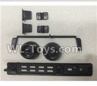 XK A100 J11 Parts-Spare Parts set-A100.0003,XK A100-SU27 J11 RC Plane Parts