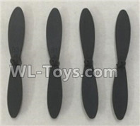 XK A100 J11 Parts-Propellers replace Parts,Main rotor blades(4pcs)-A100.0005,XK A100-SU27 J11 RC Plane Parts