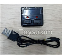 XK A100 J11 Parts-Charger and Balance charger-X100.008,XK A100-SU27 J11 RC Plane Parts