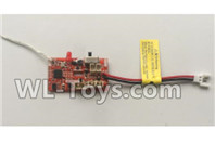 XK A100 J11 Parts-Receiver board,Circuit board-A100.0008,XK A100-SU27 J11 RC Plane Parts