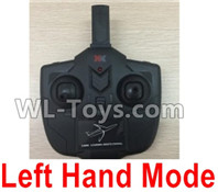 XK A100 J11 Parts-Transmitter,Remote Control-Left Hand Mode-X4.013,XK A100-SU27 J11 RC Plane Parts