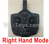 XK A100 J11 Parts-Transmitter,Remote Control-Right Hand Mode-X4.014,XK A100-SU27 J11 RC Plane Parts