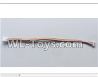 XK A100 J11 Parts-Steering gear extension line set-A130.0010,XK A100-SU27 J11 RC Plane Parts