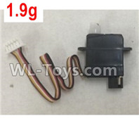 XK A100 J11 Parts-1.9g Servo,Steering Servo Parts-A100.0010,XK A100-SU27 J11 RC Plane Parts