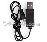 XK A100 J11 Parts-USB Charging Cable,XK A100-SU27 J11 RC Plane Parts