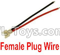 XK A100 J11 Parts-Female Plug Wire for the Circuit board(1pcs),XK A100-SU27 J11 RC Plane Parts