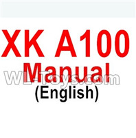 XK A100 J11 Parts-Manual pdf,XK A100-SU27 J11 RC Plane Parts