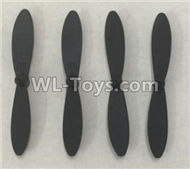 XK A110 Predator Parts-Propellers Replace Parts-A110.0005,Main rotor blades(4pcs),XK A110 RC Plane Parts,XK A110 Predator Parts-RC Fixed Wing Plane Parts