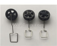 Wltoys XK A120 Parts-Landing gear set Parts(3 set)-A120.0008,Wltoys XK A120 Airbus A380 Plane Parts