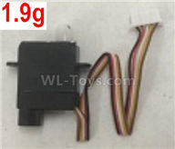 Wltoys XK A120 Parts-1.9g Servo Parts,Steering Servo Parts-A100.0010,Wltoys XK A120 Airbus A380 Plane Parts