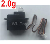 Wltoys XK A120 Parts-2.0g Servo Parts,Steering Servo Parts-A120.0012,Wltoys XK A120 Airbus A380 Plane Parts
