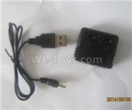 Wltoys XK A120 Parts-Charger and USB Charger Parts(Official)-V966.027,Wltoys XK A120 Airbus A380 Plane Parts