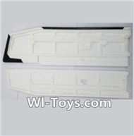 XK A1200 Parts-Main Wing(Only EPP foam,No other parts),Wltoys XK A1200 RTF AirPlane Parts Accessories,XK A1200 fpv plane RC Fixed Wing Plane Parts