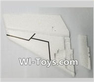 XK A1200 fpv plane Parts-Verticall Tail wing(Only EPP foam,No other parts),Wltoys XK A1200 RTF AirPlane Parts Accessories,XK A1200 fpv plane RC Fixed Wing Plane Parts