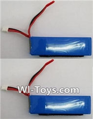 XK A1200 Parts-LIPO Battery-7.4v 2000mah Battery(2pcs),Wltoys XK A1200 RTF AirPlane Parts Accessories,XK A1200 fpv plane RC Fixed Wing Plane Parts