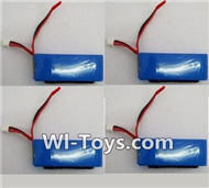 XK A1200 RC Batteries Parts-7.4v 2000mah Battery(4pcs),Wltoys XK A1200 RTF AirPlane Parts Accessories,XK A1200 fpv plane RC Fixed Wing Plane Parts