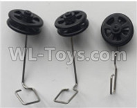 Wltoys XK A130-Y20 Parts-Landing gear set Parts(3 set)-A130.0008,XK A130-Y20 RC Plane Drone Parts,A130-Y20 C-17 RC Plane Parts
