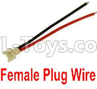 Wltoys XK A130-Y20 Parts-Female Plug Wire for the Circuit board(1pcs),XK A130-Y20 RC Plane Drone Parts,A130-Y20 C-17 RC Plane Parts