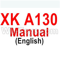 Wltoys XK A130-Y20 Parts-Manual pdf,XK A130-Y20 RC Plane Drone Parts,A130-Y20 C-17 RC Plane Parts