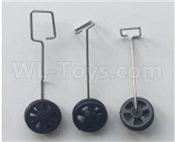 Wltoys XK A150 Parts-Landing gear set Parts(3 set)-A150.0008,Wl Toys XK A150 RC Plane Drone Parts,Boeing 747 RC Plane Parts,Boyin B747