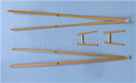 XK A160 SKYLARK Parts-Wing brace set-A160.0006,Wltech Wltoys XK A160-J3 Skylark Airplanes Parts