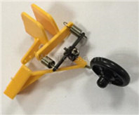 XK A160 SKYLARK Parts-Rear landing gear group-A160.0008,Wltech Wltoys XK A160-J3 Skylark Airplanes Parts