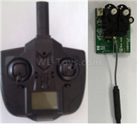 XK A160 SKYLARK Parts-Transmitter + Receiver board,Wltech Wltoys XK A160-J3 Skylark Airplanes Parts