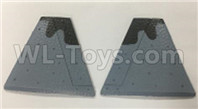 Wltoys XK A180 Parts-Vertical Tail wing. Total 2pcs. A180.0002