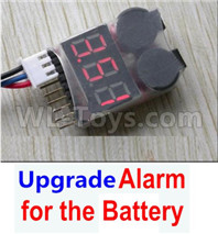 Wltoys XK A180 Parts-Upgrade Alarm for the Battery Can test whether your battery has enough power.