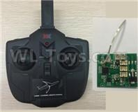 Wltoys XK A180 Parts-Transmitter + Receiver board-A100.0012+A180.0010