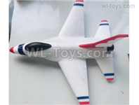 Wltoys XK A200 Parts All Foam Assembly. A200.0001. Include the Fuselage Body,All the Herizontal and Vertical Wings