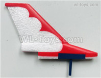 Wltoys XK A200 Parts The Tail Wing, the Tail Verticall Wings Assembly. A200.0004