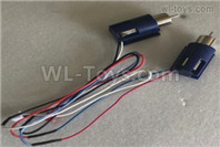 Wltoys XK A200 Parts Main motor unit. A200.0006. Total 2pcs Motor and 2pcs Motor Seat.