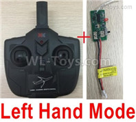 Wltoys XK A200 Parts Transmitter,Remote Control and Receiver board.