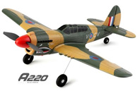 Wltoys XK A220 P40 Fighter RC Plane, 4Ch Wingspan RC AirPlane RC Glider.