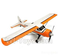 Wltoys XK A600 Parts-BNF-(Include the Fuselage, wings,horizontal and vertical tail wing,lever,steering angle,carbon rods,battery compartment,landing gear)-(Not includ the Transmitter,receiver,ESC,motor,Battery,propeller,servo)