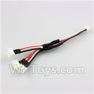 Wltoys XK A600 Parts-Upgrade 1-TO-3 Charge wire,Wltoys XK A600 RC Plane Parts,XK DHC-2 A600 RC RC Fixed Wing Plane Parts