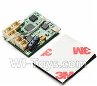 Wltoys XK A600 PartsReceiver board Spare Parts,-Circuit board For XK A600 AirPlane,XK DHC-2 A600 RC RC Fixed Wing Plane