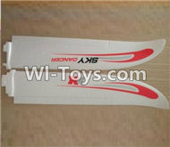 XK A700 Parts-Main Wing,Horizontal wing,EPO Right and Left wing-XK.2.A700.002,XK A700 Sky Dancer RC Plane Parts Accessories,XK A700 Skydancer RC Fixed Wing Plane Replacement Parts