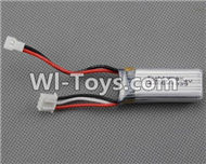 XK A700 Parts-Battery parts-Official 7.4v 300mah 20C Battery(1pcs)-XK.2.A700.010,XK A700 Sky Dancer RC Plane Parts Accessories,XK A700 Skydancer RC Fixed Wing Plane Replacement Parts