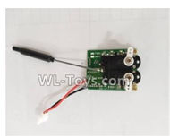 XK A800 RC Plane Parts-Receiver board,Circuit board-A800.0009,Wltoys XK A800 glider RC Plane Spare Parts Accessories,XK A800 RC Fixed Wing Plane Replacement Parts