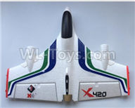 XK X420 Parts-Fuselage Body Parts-X420.0001,Wltoys XK X420 simulator Plane Parts