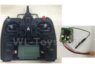 XK X450 thercsaylors Parts-Transmitter+Receiver Parts-X450.0024+X450.0014,XK A450 Vtol Aviator Parts,XK X450 RC Plane Parts