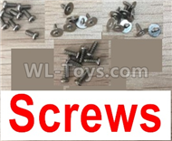 Wltoys F500 Spare Parts X520.0011 Screws,Wltoys F500 RC AirPlane Spare Parts Accessories,Wltoys F500 RC Fixed Wing Plane Parts