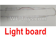Wltoys F500 Spare Parts X520.0021 LED Light board,Wltoys F500 RC AirPlane Spare Parts Accessories,Wltoys F500 RC Fixed Wing Plane Parts