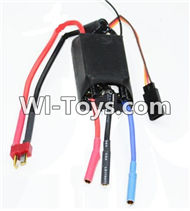 Feilun FT011 ESC Parts(Official)-60A Three-in-one Brushless ESC(Official),Feilun FT011 RC Boat Parts