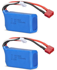 WL915 Boat Parts-46-02 11.1v 1200mah Battery(2pcs) ,Wltoys WL915 RC Boat spare parts,WL915 Brushless motor RC Racing boat Accessories