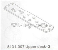 DHK RAZ-R Parts-Upper deck-G Parts-8131-007,DHK RAZ-R Parts,DHK Wolf Parts,DHK HOBBY 8133 8134 Parts